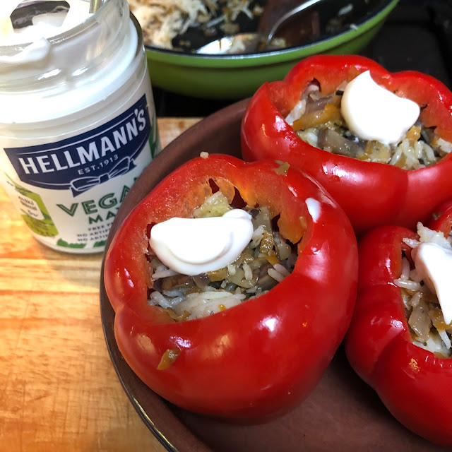 vegan meals, Hellmann's vegan mayo