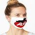 Dust-proof Mask, Anti Dust 100% Cotton Saw Dust Masks Cute Unisex Mouth Mask Cover for Adult - Face Mask for Outdoor Ski Cycling Camping