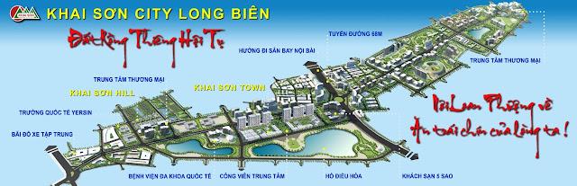 Phối cảnh tổng thể Khai Sơn City