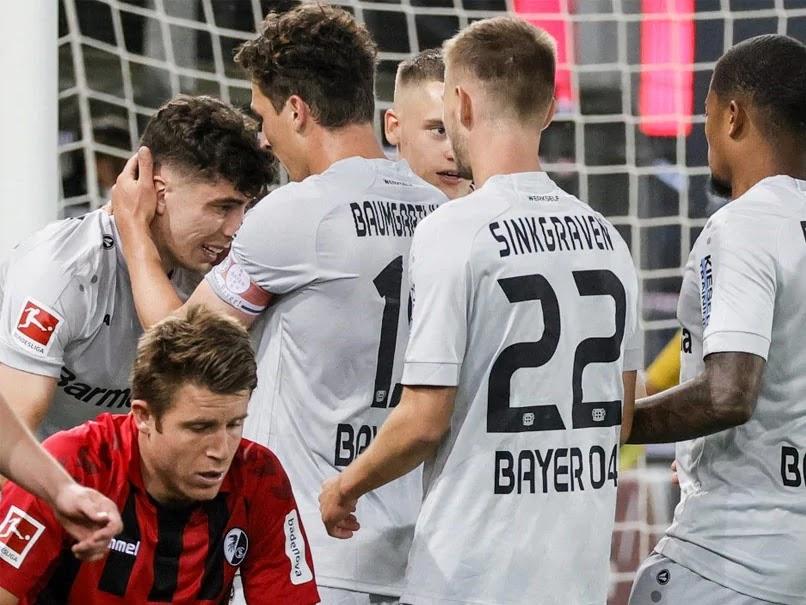 Bundesliga: Havertz skjuter Leverkusen på tredje plats med Freiburg-vinnaren