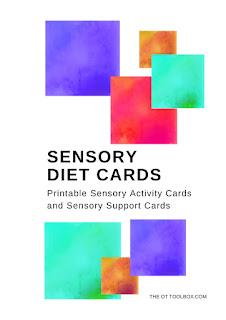 Sensory Diet Cards