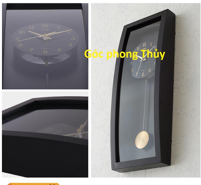 Đặt đồng hồ theo phong thủy trong phòng khách