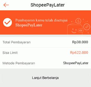 Cara Mendapatkan Shopee Paylater
