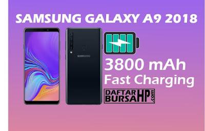 Spesifikasi Baterai Samsung Galaxy A9 2018