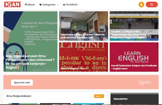 offisial website gani nur pramudyo 2016
