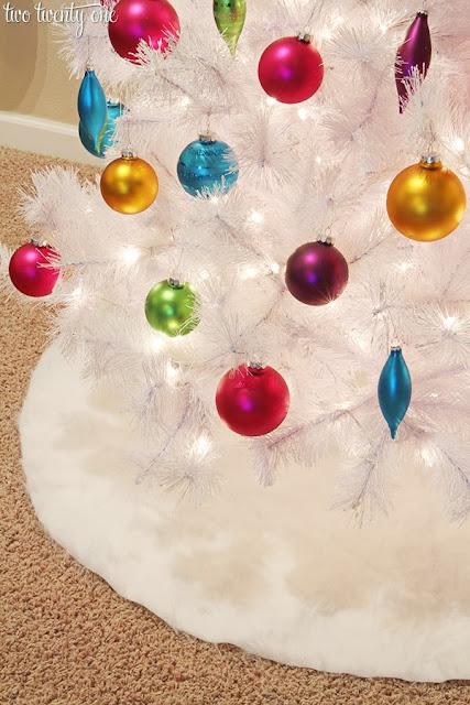 Diy tree skirts to make for your Christmas tree