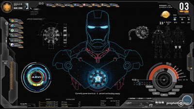 Ironman Rainmeter theme
