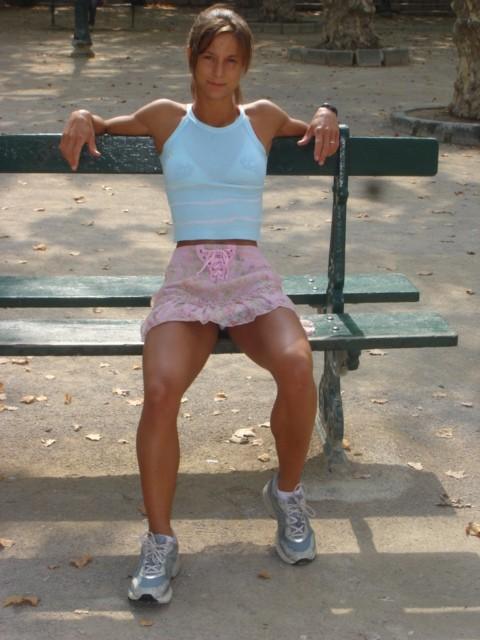 GoddessLust: Sarah De Herdt Muscular Body