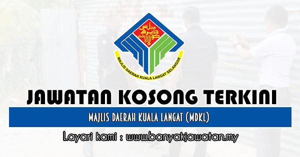 Jawatan Kosong 2019 di Majlis Daerah Kuala Langat (MDKL)