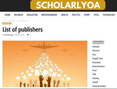 Cek daftar jurnal predator melalui scholaryoa
