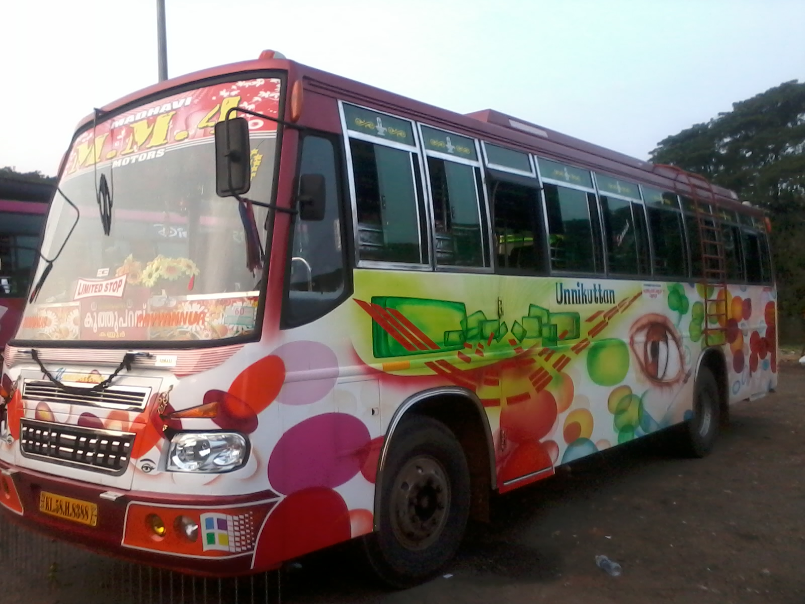 Kannur Private Buses January 2013