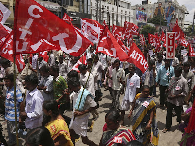 Imagini pentru huelga general en la india 2019