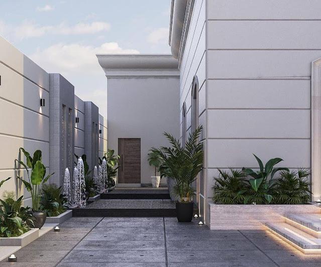 مؤسسة تصميم حدائق منزلية جدة