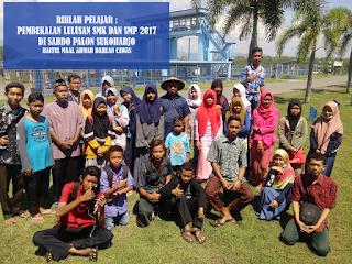 RIHLAH PELAJAR pembekalan lulusan SMK dan SMP 2017 di sabdo palon sukoharjo baitul maal ahmad dahlan cawas