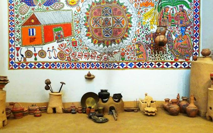 मिथिलाक संस्कृति मे भनसाघर - Mithila Kitchen