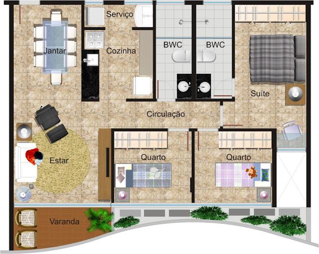 Floor Plan illustrated