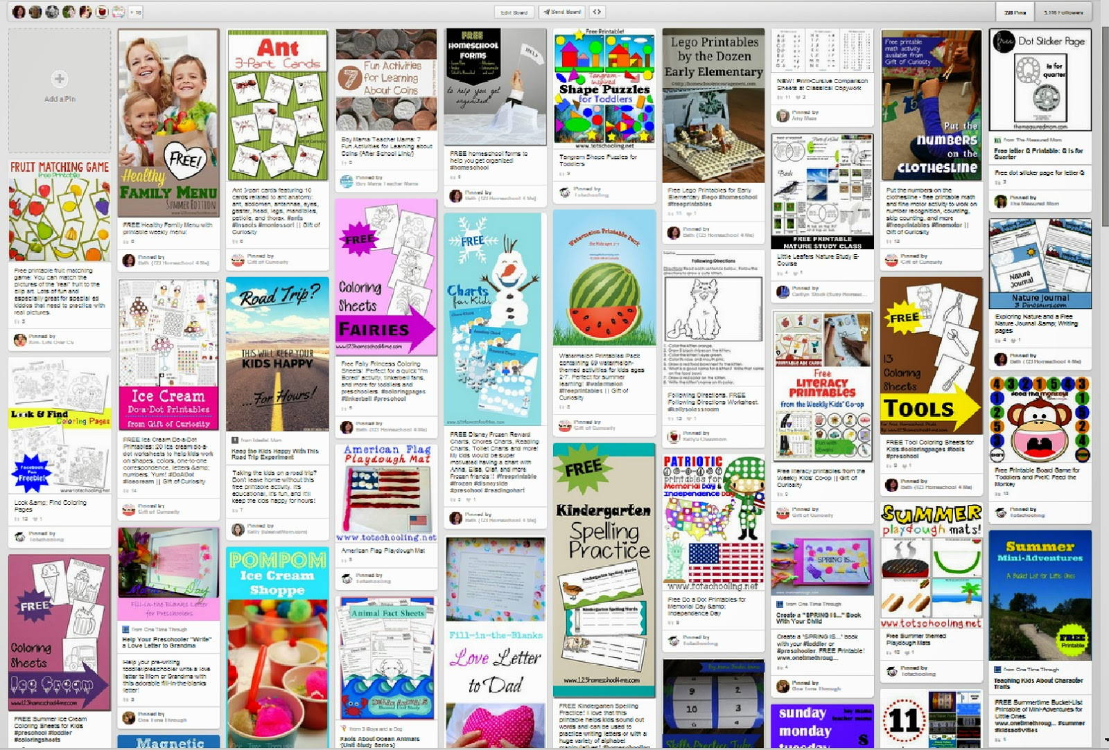 The Best Pinterest Boards For Every Subject