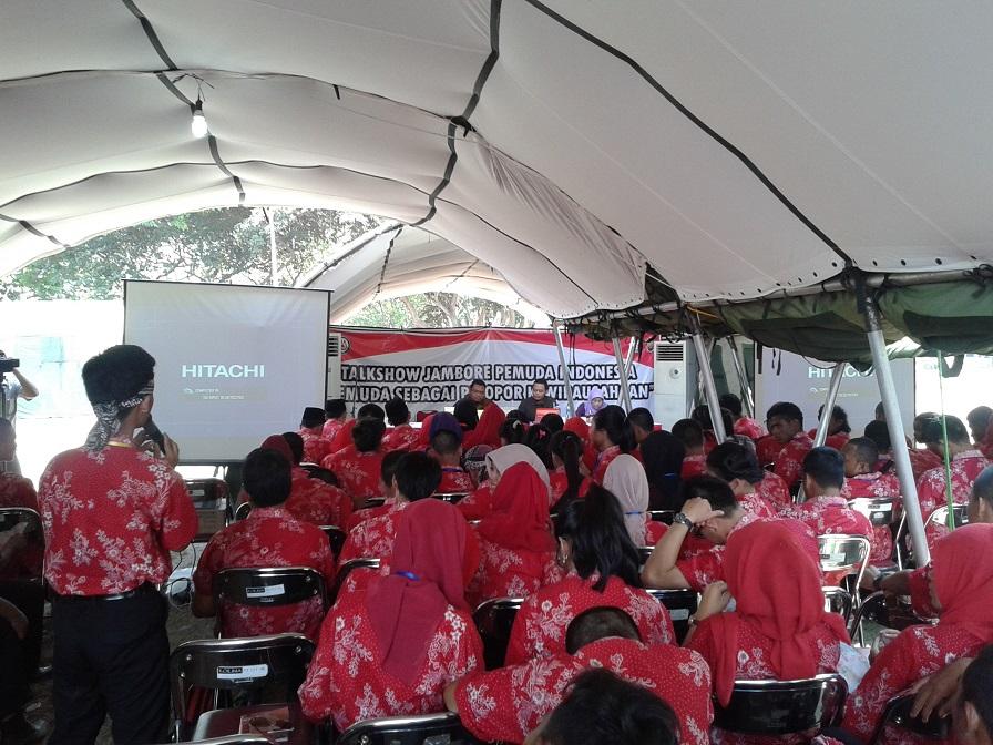 Talkshow Kewirausahaan Jambore Pemuda Indonesia (JPI) di Yogyakarta 2014