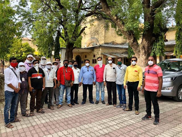 'दिव्यमराठी'चे संपादक,पत्रकारांवरील गुन्हे मागे घ्या