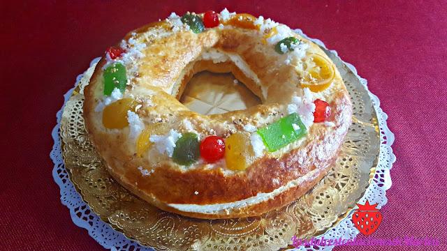 Roscón de Reyes Fácil de Nata