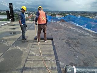 Waterproofing Membrane Rooftop Gedung