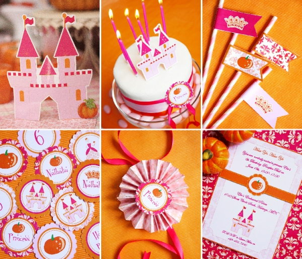 A Pumpkin Princess Birthday Tea Party - BirdsParty.com