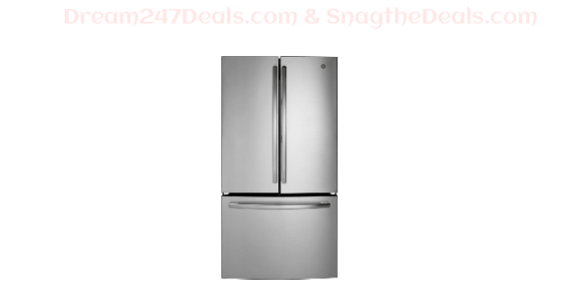 GE 27 cu. ft. French Door Refrigerator in Stainless Steel,  ENERGY STAR