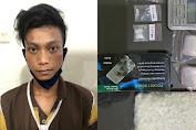 Pemuda Ini Diringkus Satresnarkoba Polrestabes Surabaya Saat Hendak Transaksi Sabu