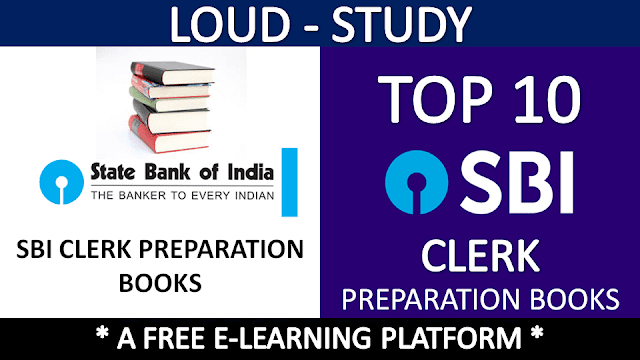 SBI Clerk Preparation Books