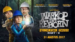 Download Warkop DKI Reborn Jangkrik Boss Part 2 (2017) Full Movies