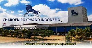 Lowongan Kerja PT Charoen Pokphand Indonesia Sukabumi