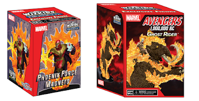 San Diego Comic-Con 2019 Exclusive Marvel Comics HeroClix Figures by NECA