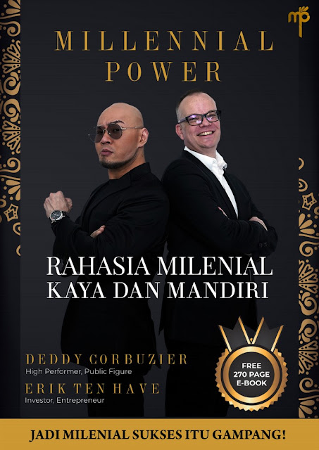 Buku Deddy Corbuzier Millennial Power