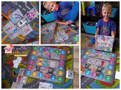 Ćwiczymy usta i język ! Super gra planszowa stworzona przez logopedkę.