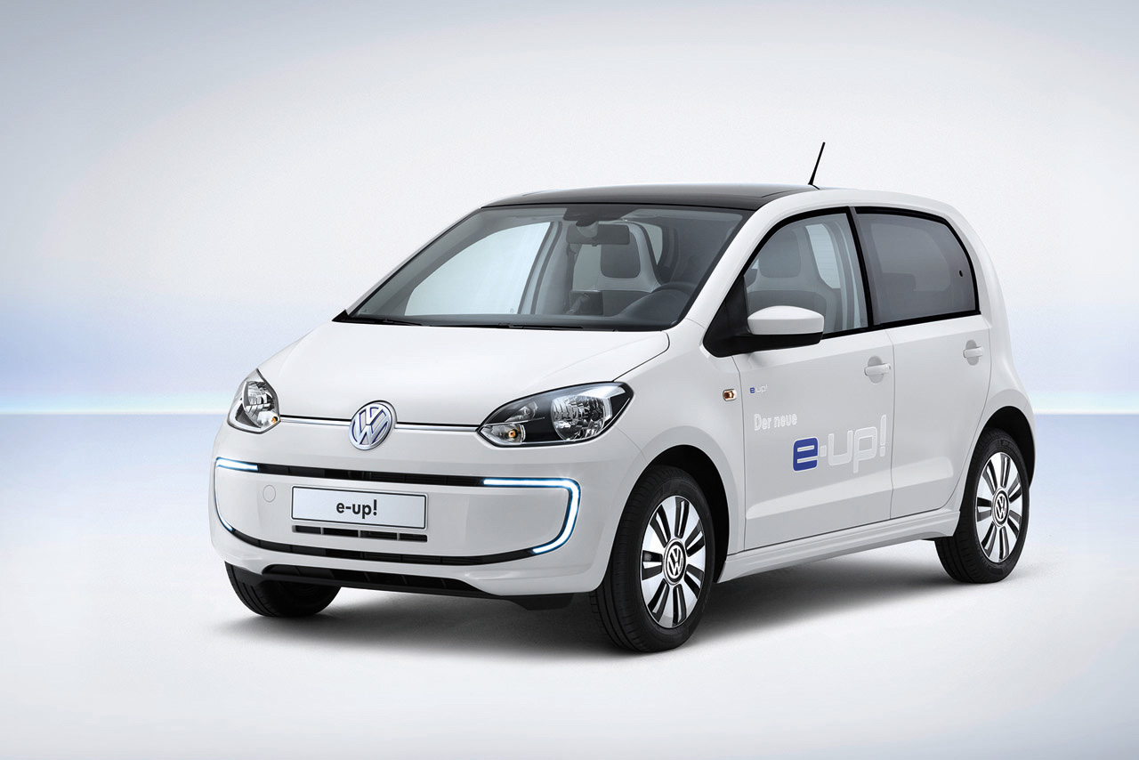 Vw Announce First Fully Electric Production Car E Up