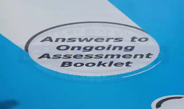اجابات بوكليت التقييم المستمر جيم Gem ongoing assessment answers للصف الاول الثانوى ترم اول 2022
