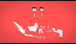 Jumlah laki laki dan perempuan di Indonesia berimbang dan dikategorikan Aman untuk para Jomblo