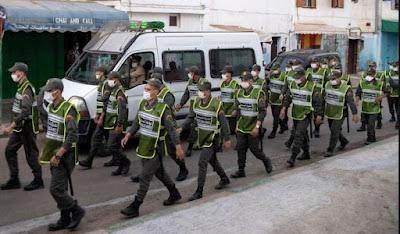 المغرب في حرب جديدة مع كوروناو السلطات تستعد لإغلاق المقاهي والمطاعم ومنع التجول الليلي ابتداء من آذان المغرب.