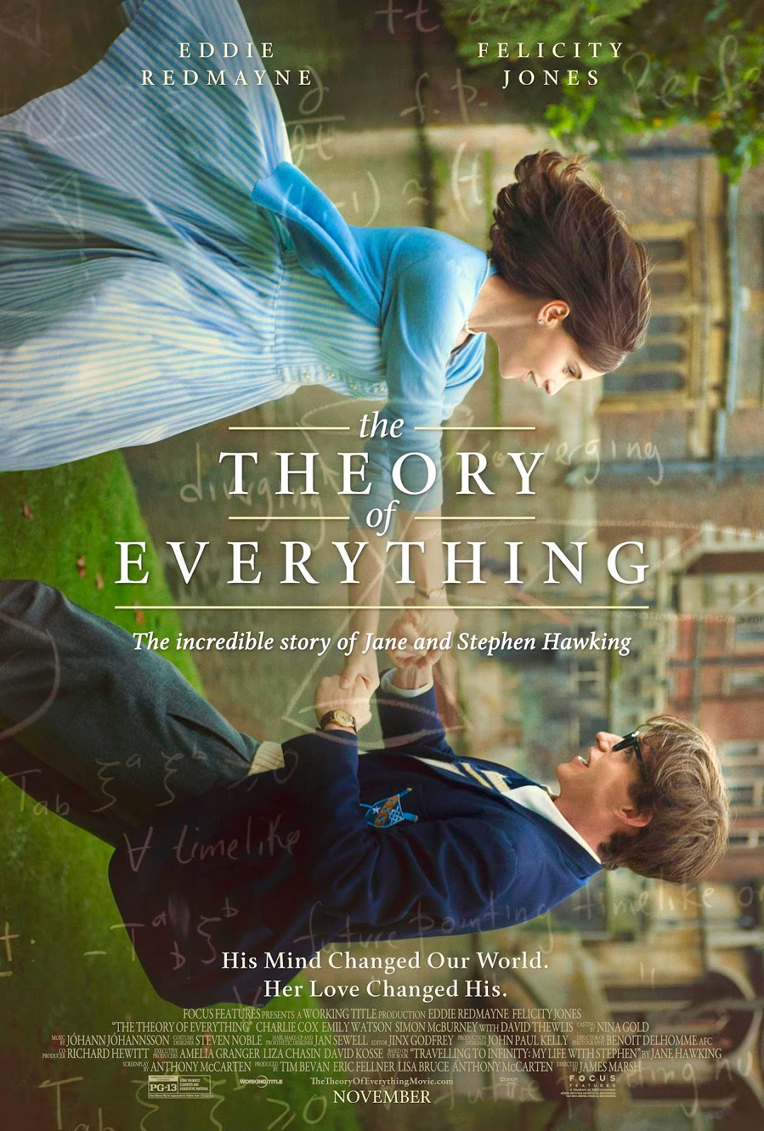 The Theory of Everything, Film Poster, Directed by James Marsh