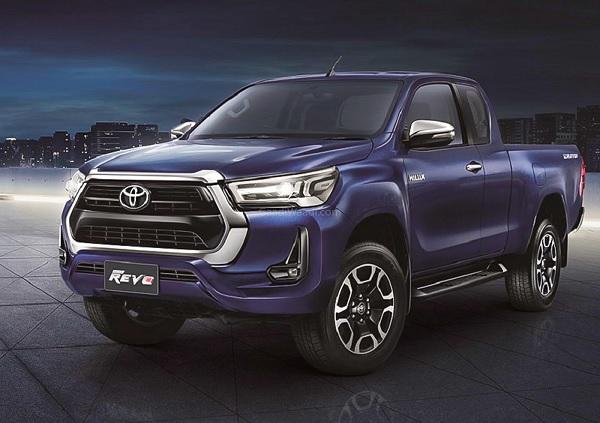 Toyota Hilux Facelift, Hadir dengan Tampilan yang Lebih Tangguh