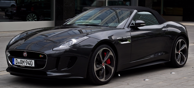 Jaguar F-Type Dirancang Design Project Predator