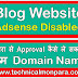 Blog Website Adsense Disabled Fir Se Approve Kaise Kare