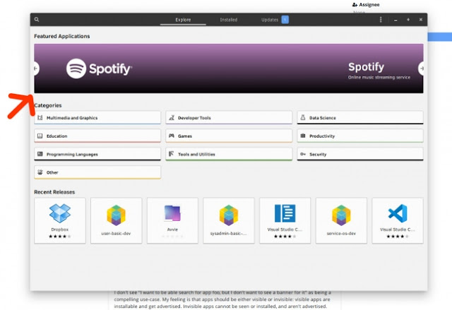 banner-do-spotify-na-gnome-software