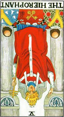 The Hierophant Reversed Tarot Card Meaning- Major Arcana