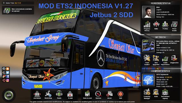 Kumpulan Download Mod ets2 indonesia v1.27 Terbaru