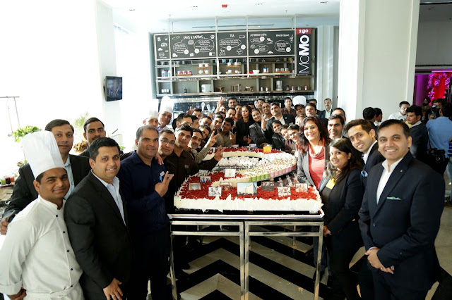 Courtyard by Marriott, Agra gets bigger on its 2nd anniversary breaking its own record by yet another longest cake in Agra's history!
