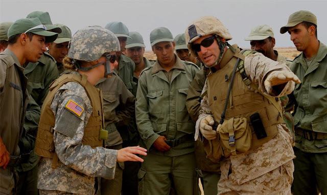 لأول مرة .. مناورات عسكرية مغربية أمريكية تقترب من حدود الجزائر