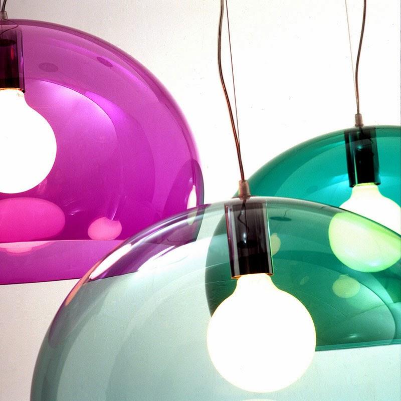 10 lámparas clásicas del diseño industrial: fly lamp, Ferruccio Laviani