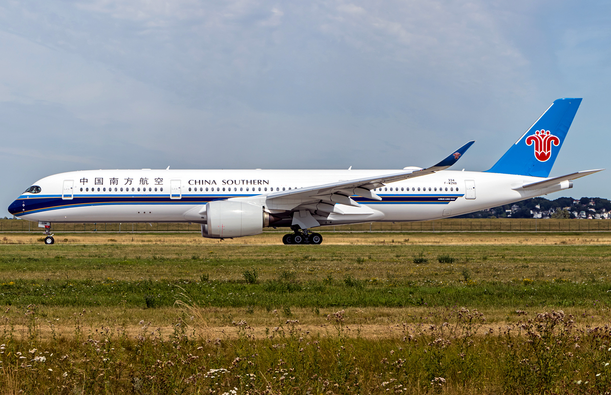 China Southern Airlines A350-900 October 2019 Delivery