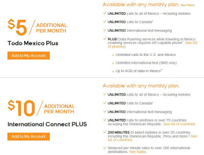 boost mobile international calling plans